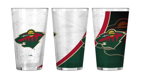 Minnesota Wild Rink Pint Glass