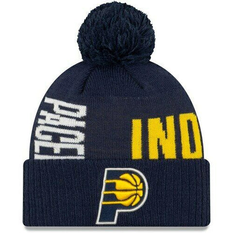 New Era Indiana Pacers Navy 2019 NBA Tip-Off Series Cuffed Knit Hat