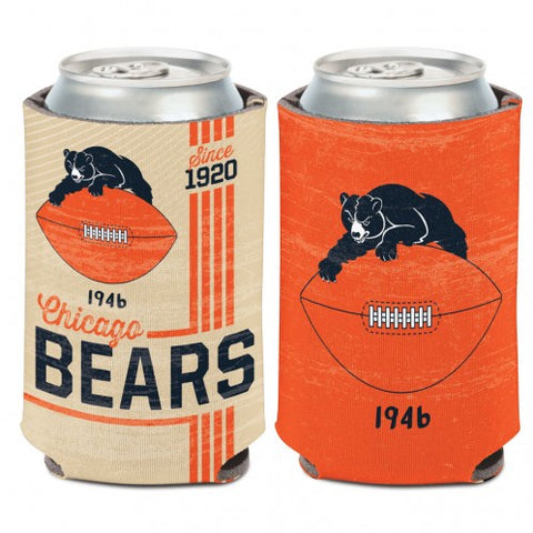 Chicago Bears 12 oz. 1946 Logo Can Cooler By Wincraft
