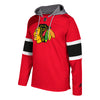 Men's Adidas Chicago Blackhawks Platinum Jersey Pullover Hoodie