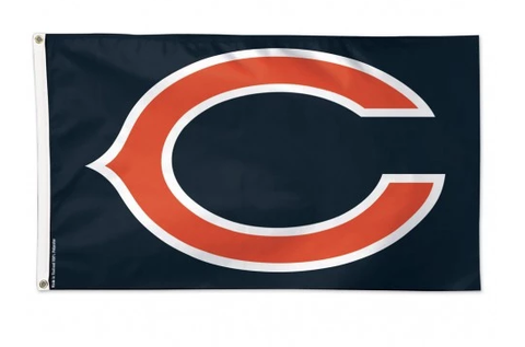 "Chicago Bears ""C"" 3X5 Deluxe Flag By Wincraft"