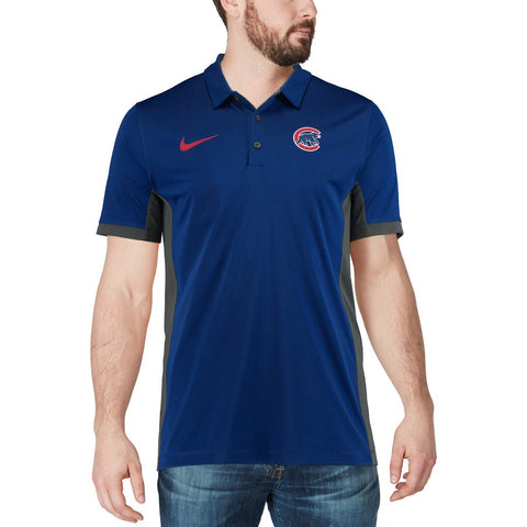 Chicago Cubs Men's Nike Royal Franchise S/S Polo