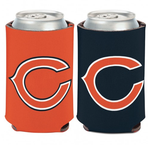 Chicago Bears Orange/Navy 12oz. Can Cooler By Wincraft
