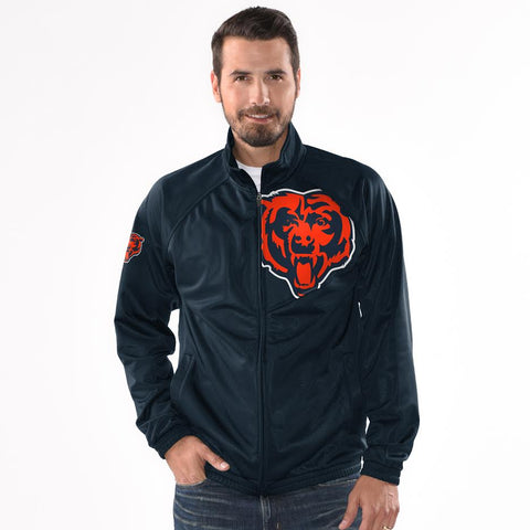 Men's Chicago Bears Synergy Lightweight Jacket By G-III