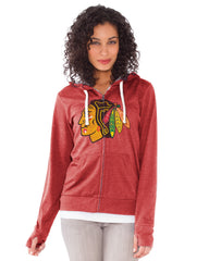 Chicago Blackhawks Ladies All Star Full-Zip Hooded Sweatshirt - Pro Jersey Sports