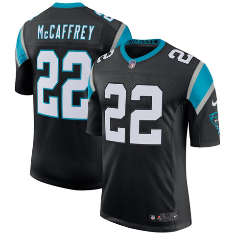 Men's Carolina Panthers Christian McCaffrey Nike Black Classic Limited Jersey