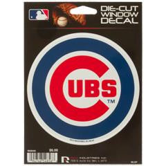 MLB Chicago Cubs Die-Cut Window Decal