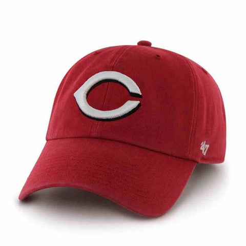 Cincinnati Reds Clean Up Adjustable Game Dad Hat By '47 Brand