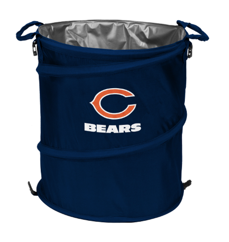 Chicago Bears Collapsible 3-in-1 Cooler, Garbage Can, Hamper By Logo Brands