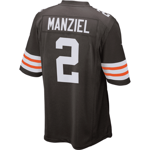 Youth Cleveland Browns Jonny Manziel Nike Game Jersey