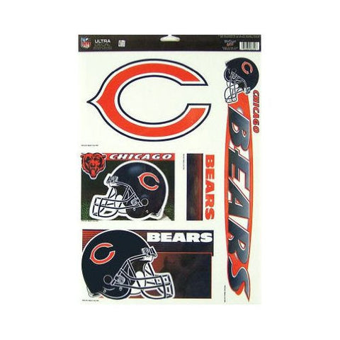 Chicago Bears 11X17 Multi Use Decal Sheet