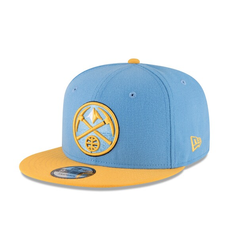 Denver Nuggets 2Tone Team Color Snapback Hat