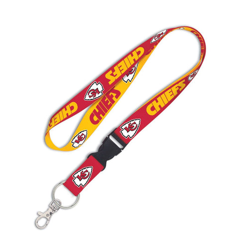 "Kansas City Chiefs 1"" Lanyard with Detachable Buckle By Wincraft"