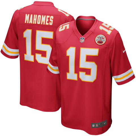 Youth Kansas City Chiefs Patrick Mahomes Nike Red Game Jersey