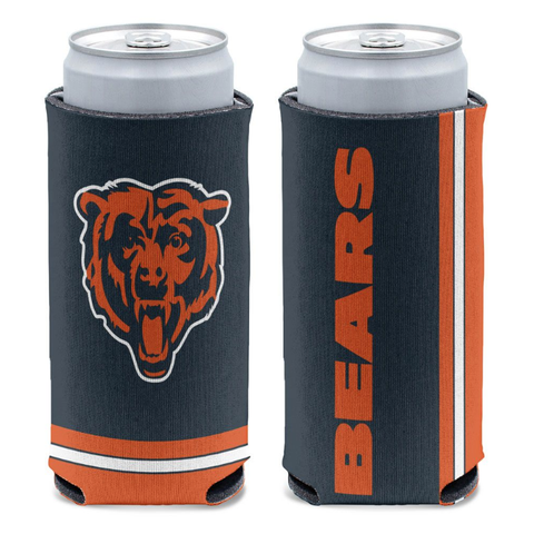 Chicago Bears 12 oz. Slim Can Cooler By Wincraft