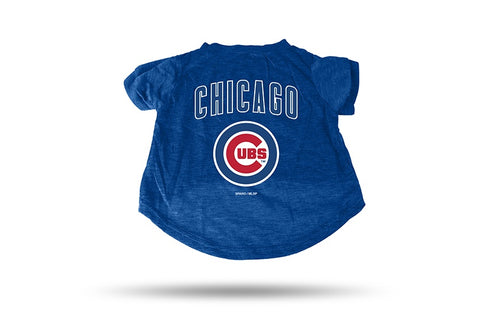 Chicago Cubs Royal Pet Shirt By Rico