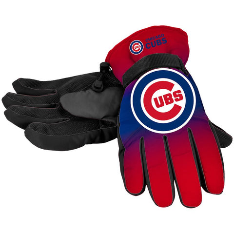 Chicago Cubs Gradient Insulated Gloves