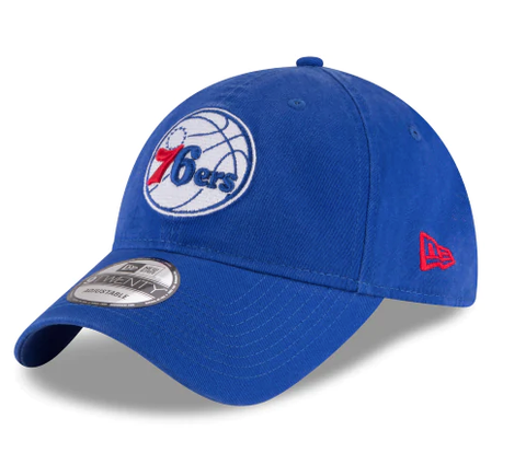 Philadelphia 76ers Core Classic 9TWENTY Adjustable Hat