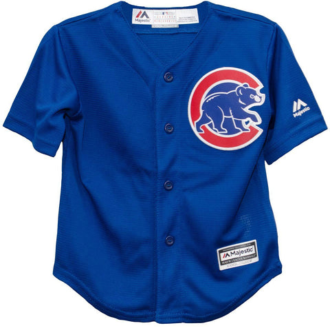 Child Chicago Cubs Alternate Cool Base Replica Jersey By Majestic