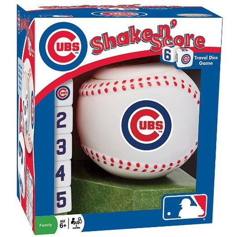 Chicago Cubs Shake N Score Game - Pro Jersey Sports