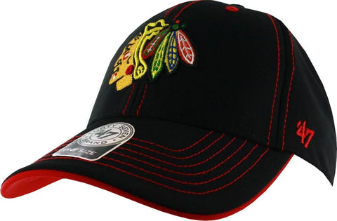 '47 Brand NHL Chicago Blackhawks Defiance MVP Adjustable Hat
