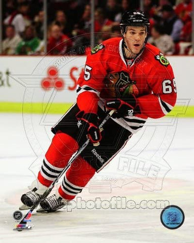 "Andrew Shaw Chicago Blackhawks NHL Action Photo (Size: 8"" x 10"")"