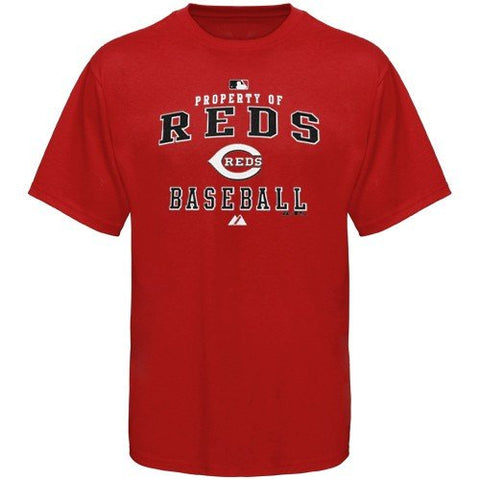 Cincinnati Reds AC Property Heavyweight T-Shirt by Majestic Athletic