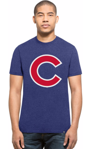 47 Mens Chicago Cubs Royal Club T-Shirt