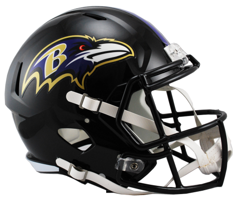 Baltimore Ravens Full Size Replica Speed Helmet
