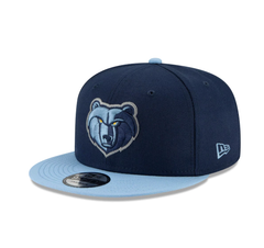 Men's Memphis Grizzlies 2Tone Baby Blue/Navy Blue Team Color Snapback Hat