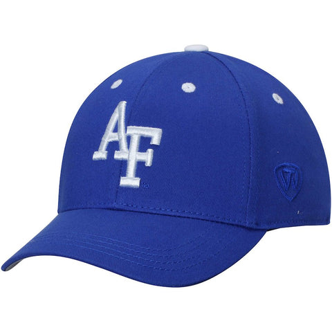 Mens Top of the World Air Force Falcons One-Fit Hat - Royal Blue