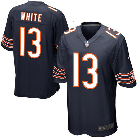 Youth Chicago Bears Kevin White Navy NIKE Game Jersey