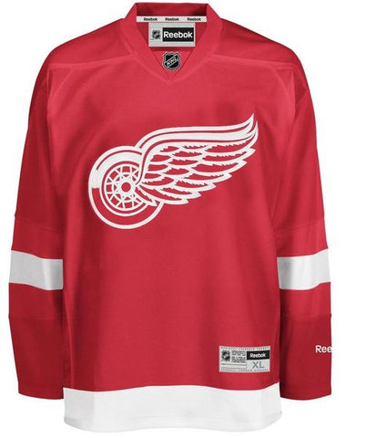 Detroit Red Wings Reebok Mens Premier Replica Home NHL Hockey Jersey