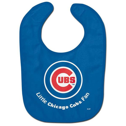 MLB Chicago Cubs Little Fan Baby Bib