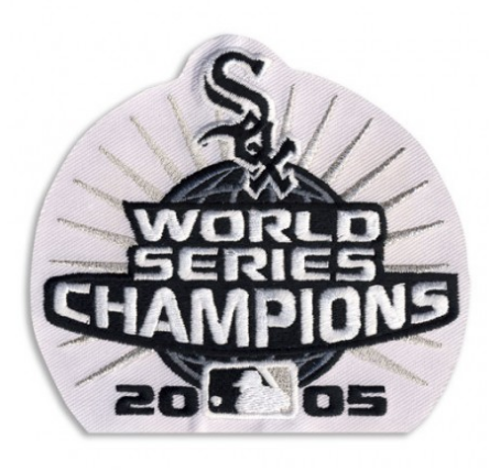 Chicago White Sox 2005 World Series Champions Sleeve Patch