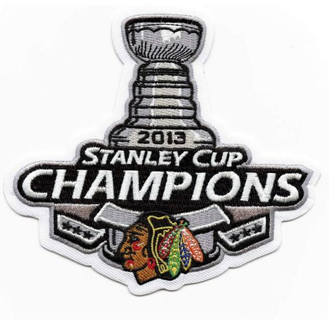 Chicago Blackhawks 2013 Stanley Cup Champions Patch
