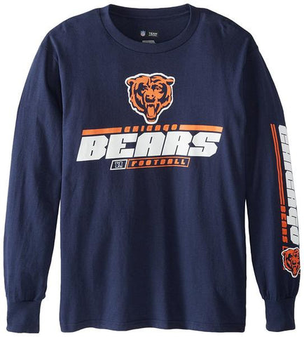 Chicago Bears Primary Receiver Iv Long Sleeve Tee