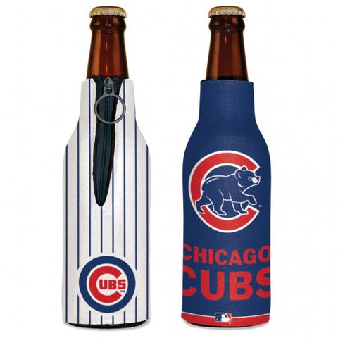 Chicago Cubs Zip Up Bottle Cooler