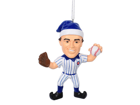 Anthony Rizzo Chicago Cubs Resin Player Elf Christmas Ornament