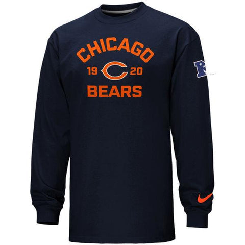 Chicago Bears Arch Est. L/S T by Nike