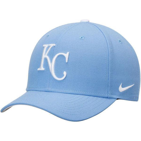 Men's Kansas City Royals Nike Light Blue Wool Classic Adjustable Performance Hat