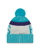Charlotte Hornets NBA Sport Knit Hat By New Era