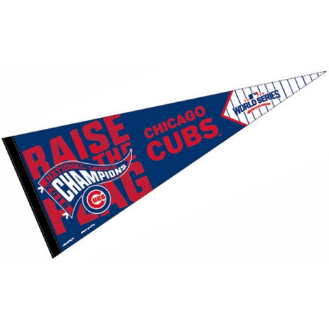 Chicago Cubs 2016 National League Champions Premium Pennant By Wincraft