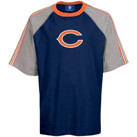 Reebok Chicago Bears Navy Blue Youth Primary T-shirt