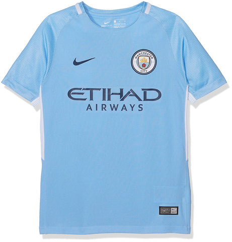 Youth Manchester City Football Club Nike Soccer Jersey