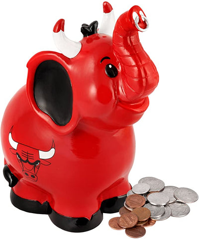 Chicago Bulls Thematic Elephant Bank
