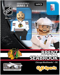 Chicago Blackhawks Defenseman Brent Seabrook #7 Road Jersey Oyo Generation 2 Series 3