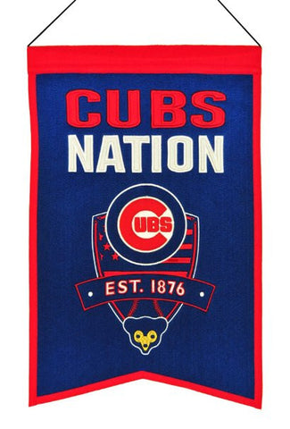 Chicago Cubs Nation Banner - Pro Jersey Sports - 1