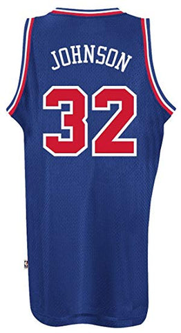 Men's Magic Johnson Los Angeles Lakers Adidas 92 All-Star Game Swingman Jersey