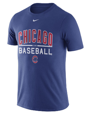 Chicago Cubs Nike MLB Men's Home Practice T-Shirt 1.7